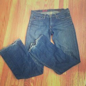 AG the angel bootcut jeans 29 regular